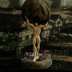 Download 3D print files Eren Titan - Shingeki no Kyojin, Ideazgo