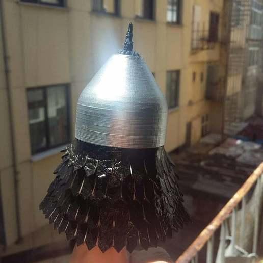 100903161_296171114744357_6169115935337611264_o.jpg Download free STL file Khuzait Helmet • 3D print object, 3DBrotherHooD