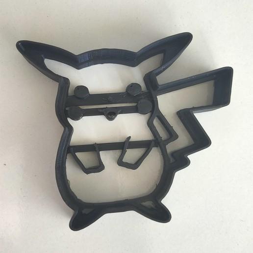 Télécharger fichier GCODE gratuit Pokemon Pikachu Coupeuse à biscuits modifiée • Plan pour imprimante 3D, dan86