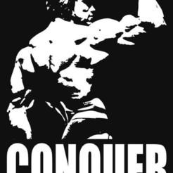 Télécharger fichier GCODE gratuit Porte-clés Arnold Schwarzenegger Bodybuilding • Modèle pour impression 3D, dan86