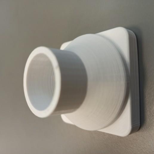 Download free STL file Mask connector Drager Ambu  • 3D printer model, rprzekop