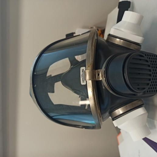IMG_20200408_140317.jpg Download free STL file Mask connector Drager Ambu  • 3D printer model, rprzekop