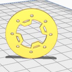 Screenshot 2021-01-13 235251.png Download STL file 4 Bar Ring • 3D printable template, PlasticFace