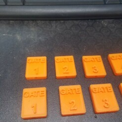 20201228_225545.jpg Download STL file 1/24 th Scale Comp Gates. • Object to 3D print, PlasticFace