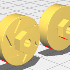 rotors 1.png Download STL file SCX24 Scale rotors • 3D printable template, PlasticFace