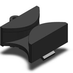 Screenshot 2020-11-21 211147.jpg Télécharger fichier STL gratuit Support de tiroir arrière pour four GE, pièce WB02X33180 • Design à imprimer en 3D, snarshmallow