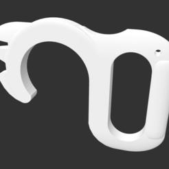 Descargar modelo 3D gratis NoTouchOpener (abridor de puerta y girador de cerradura con el pulgar), tenbium