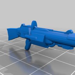 Grenade_Launcher.png Download free STL file Star Wars Grenade Launcher • 3D printer template, benjaminburton512