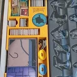 Download free STL file Hellboy Boardgame box insert • 3D printable model, evilplushie