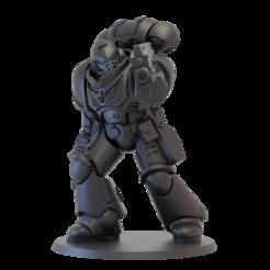 sgt_upd_1.png Télécharger fichier STL gratuit Spécialiste des fusiliers du premier guerrier de l'espace • Objet imprimable en 3D, jonethealliance