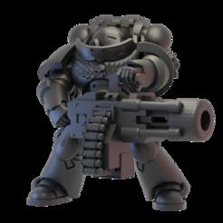 dw3.png Télécharger fichier STL gratuit Ordre du guerrier des armes lourdes des étrangers • Plan imprimable en 3D, jonethealliance