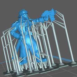 Télécharger fichier STL gratuit Soutien au commandant de la compagnie Krieg • Plan imprimable en 3D, Supporter