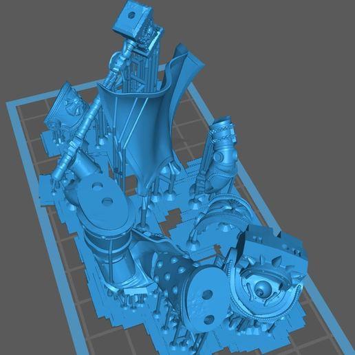 cm.JPG Télécharger fichier STL gratuit Soutien au maître du chapitre ArtelW • Objet à imprimer en 3D, Supporter