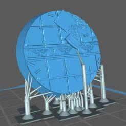Télécharger fichier STL gratuit 32MM BASE URBAINE 03 (SOUTENU) • Design à imprimer en 3D, Supporter