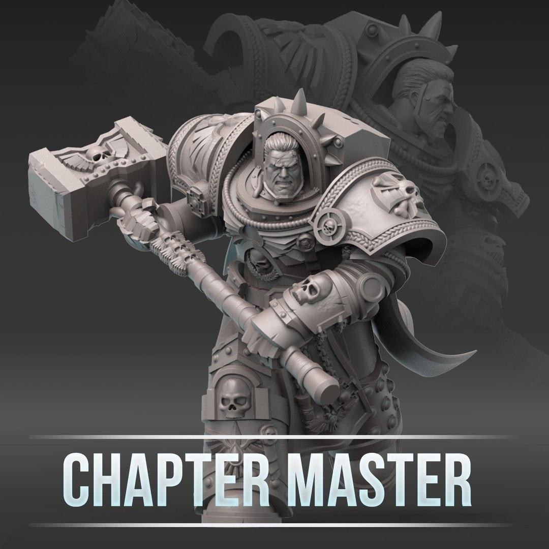 Chapter.jpg Télécharger fichier STL gratuit Soutien au maître du chapitre ArtelW • Objet à imprimer en 3D, Supporter