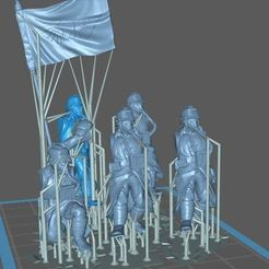 Download free 3D printer designs 28MM TRENCH FIGHTERS SET 2 (Supported), Supporter