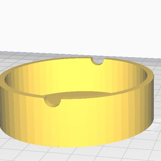 Télécharger fichier STL gratuit Cendrier • Objet pour impression 3D, Pikac