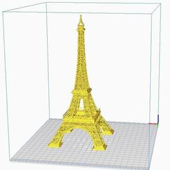 Download STL file Eiffel Tower V3 Finally • 3D printable design, Pikac