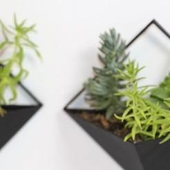 Descargar modelos 3D Triangle Planter, manur8695printing