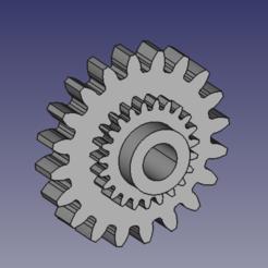 20x23.PNG Télécharger fichier STL Porsche 20x23 odometer gear 944S2 2.7 911G 930 • Objet pour impression 3D, IVF_94