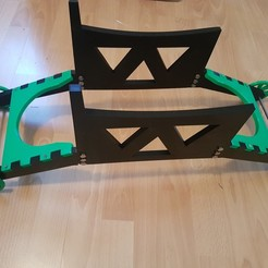 Download free 3D printing templates Trolley for a radio-controlled glider, jfthermomix