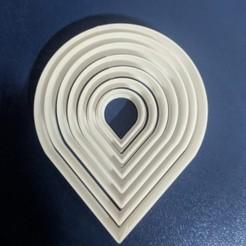 petalo.jpg Download STL file Rose petal and calyx cutter • 3D printer design, Mundo3D