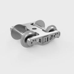 Assembly_Bogie_H0_2.png Télécharger fichier STL Bogie H0 pour la modélisation ferroviaire • Objet imprimable en 3D, msalas86