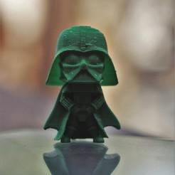 IMG_8647.JPG Download free STL file Star Wars Darth Vader cute mini figure • 3D printer object, SzonyiBalazs