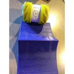 b6e2e0b049c21bdf5169cbd694bd2458_preview_featured.jpg Download free STL file Sphero Ollie Ramp • 3D print template, 3DMaster11