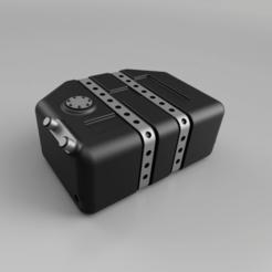 Télécharger fichier 3MF SCX10 III - Réservoir de carburant arrière • Plan imprimable en 3D, broVuso
