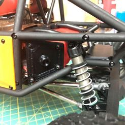 Pic 5.jpg Download STL file Axial Capra - Fuel Cell RX Holder • 3D print object, broVuso