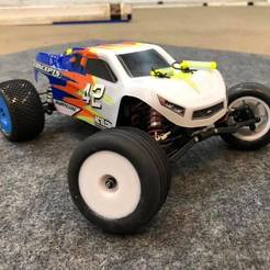 Download free STL file Losi Mini-T 2.0 - Wheels • 3D printer design, broVuso