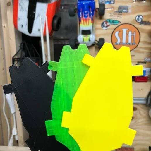 pic 4.jpg Download free STL file Losi Mini-T 2.0 - Belly Plate • 3D printable design, broVuso
