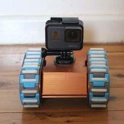IMG_2797.JPG Télécharger fichier STL Pluto V2.0 - Un VTT Rover entièrement imprimé en 3D, remixé à partir du design de la version 2 de Rover Tracks de nahueltaibo • Design à imprimer en 3D, jidiparts