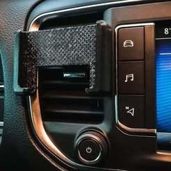 Download free STL file Smaller simple car phone holder • Model to 3D print, knetazor
