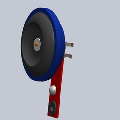 Download STL files Car Horn, caddedutec