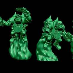 flyboys.jpg Download free STL file Retro space orc Flyboys add on kit • Template to 3D print, Jazzmantis