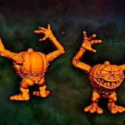 pumpkin.jpg Download free STL file Horrid Pumpkin • 3D printable design, Jazzmantis