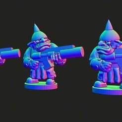 spacegoblins.jpg Download free STL file Small scale Space Goblins • 3D printer template, Jazzmantis