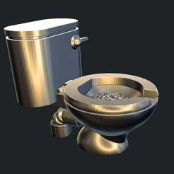 toilettime.jpg Download free STL file The throne (obviously a toilet) • 3D printing template, Jazzmantis