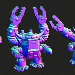 dread.jpg Download free STL file Small scale Space Orc Slayer suit mechs • 3D printer design, Jazzmantis