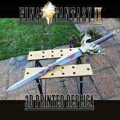 9.jpg Télécharger fichier STL Save the Queen sword Final Fantasy IX • Objet imprimable en 3D, ThatGuyMike