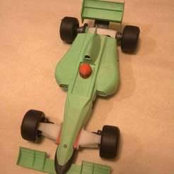 Download free 3D printer designs HPD F1 V2.1 A competition grade R/C car, kent_asplund