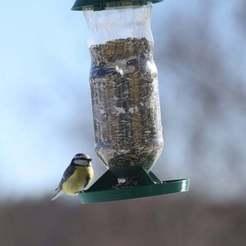 Télécharger fichier STL gratuit Mangeoire à oiseaux • Plan pour impression 3D, kent_asplund