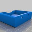 Soporte_regleta_trasera_v2.png Télécharger fichier STL gratuit Soporte regleta eléctrica / Soutien pour les barrettes d'alimentation • Objet à imprimer en 3D, Paco_Maker