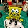 Descargar archivos 3D gratis SpongeBob (Easy print no support) , boxice3