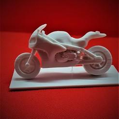 Download 3D printer files Miniature Model Sports Motorbike, NAB-Designs