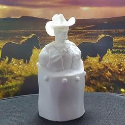 Descargar archivo 3D Adorno de busto de vaquero, NAB-Designs