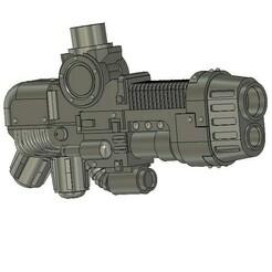 Screenshot 2021-01-25 205535.jpg Download free STL file Contemptor Plasma Cannon • 3D printing model, Craftos