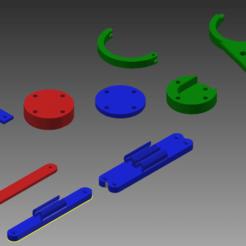 FilamentManagementSetAssm.png Télécharger fichier STL PIÈCES D'IMPRESSION • Modèle à imprimer en 3D, ceo5